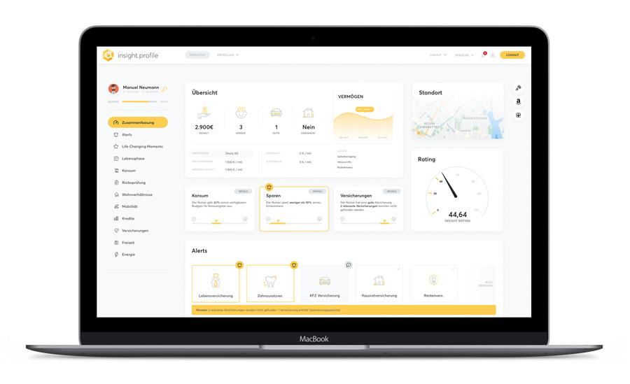 fino.insights Profile Übersicht